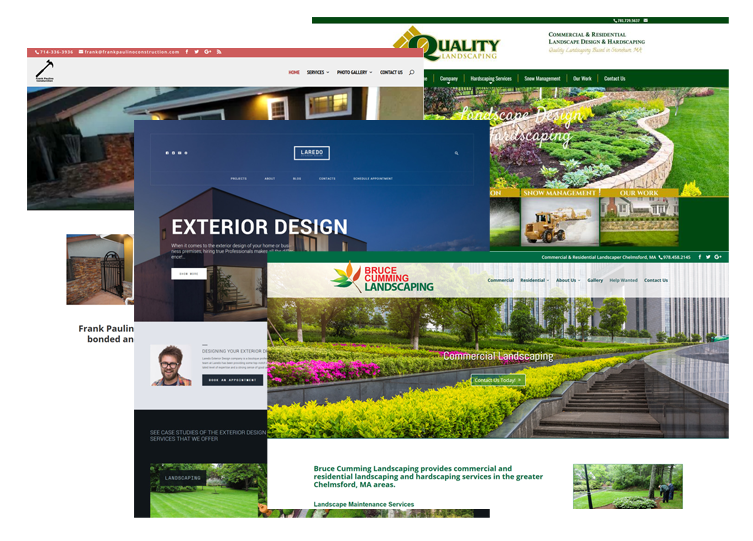 Hardscape Contractor Websites Designs