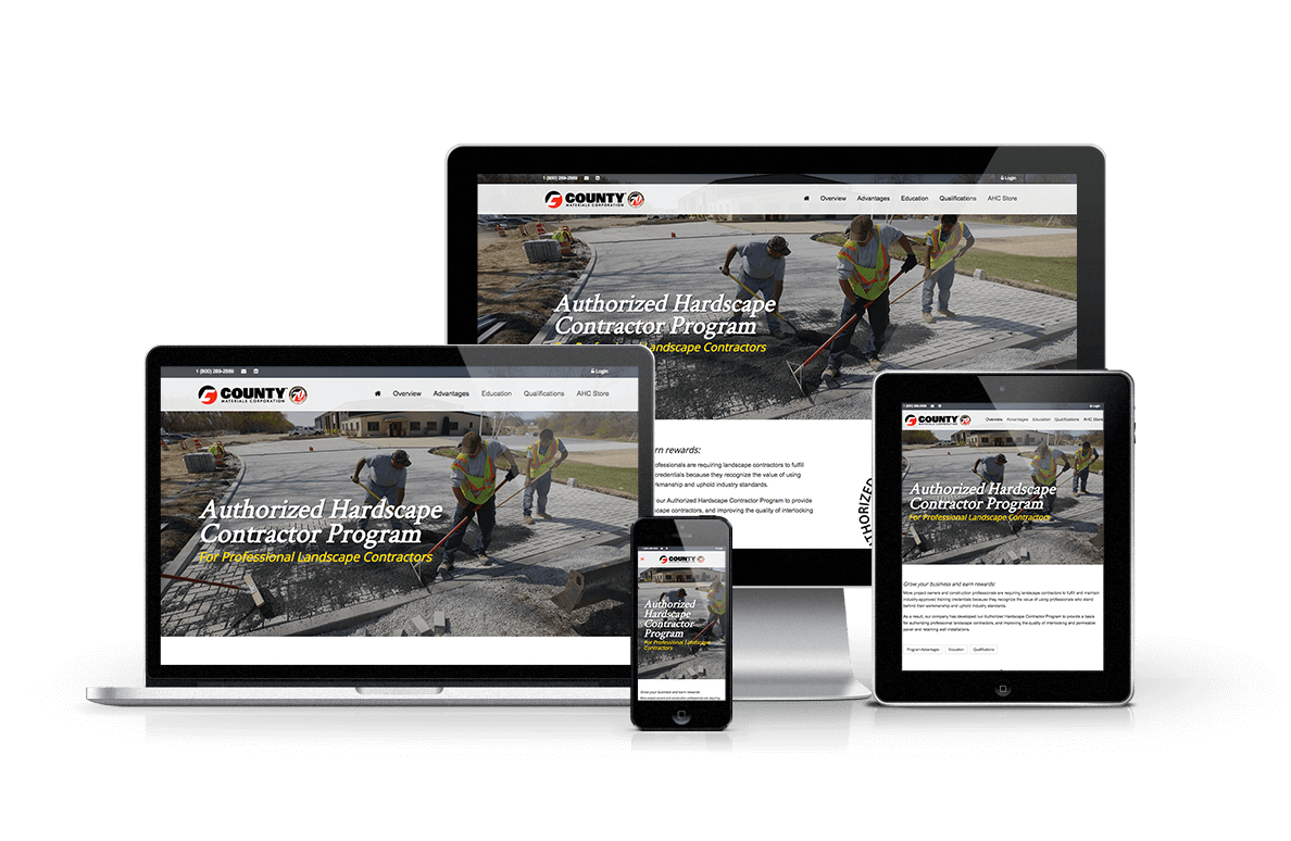 Authorized Hardscape Contractor Program Website